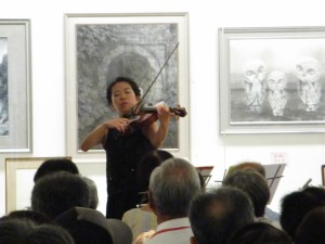 8th September, City Concert at Gallery Shikura (Kimi Makino)