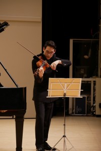 11th September, Serge Zimmermann & Kei Itoh Recital (Serge Zimmermann)